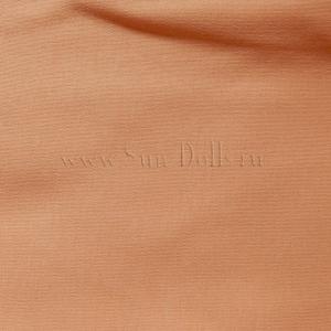 Трикотаж кукольный двойной, 25x40см -  розовый