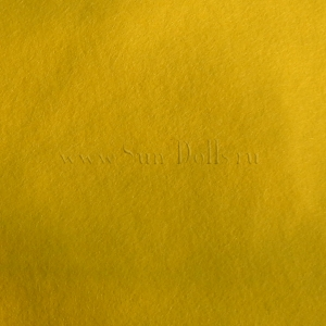 Фетр шерсть-вискоза,  1 лист 20*30 см — жёлтый  лимонный
