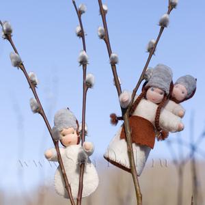 Набор для изготовления игрушки «Верба с малышами»