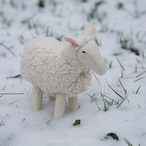 Набор для изготовления игрушки «Овечка Белла» 20 см