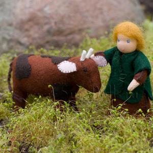 Набор для изготовления игрушек  «Пастух и бычок»